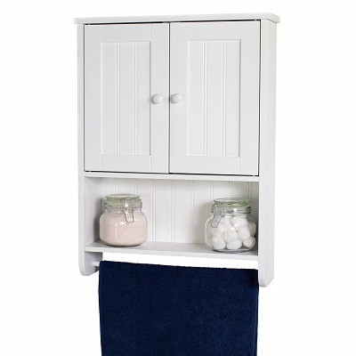 WholesalePlumbing Country Cottage Wall Cabinet Bathroom Storage