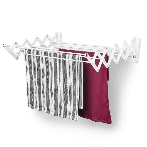 Polder Retractable Folding Clothes Dryer
