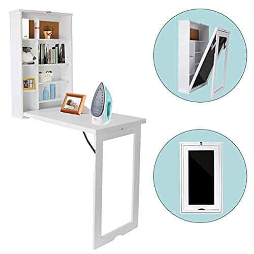 TILEMALL Fold-Out Convertible Writing Floating Desk