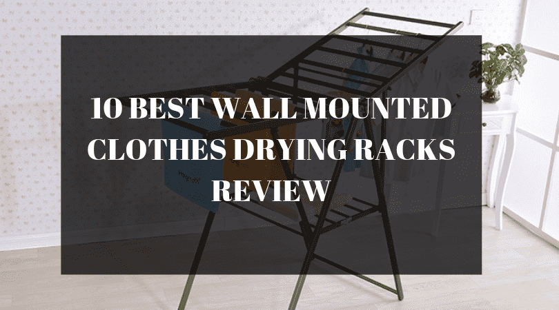 wall mounted clothes drying rack review