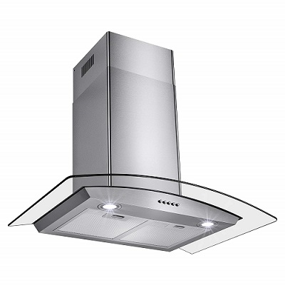 "Perfetto Kitchen and Bath 30"" Convertible Wall Mount Rangehood"