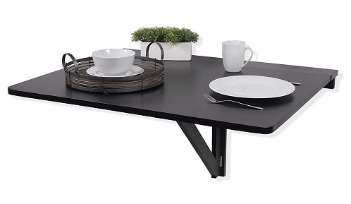 Fasthomegoods WALLNITURE Drop Leaf Dining Table