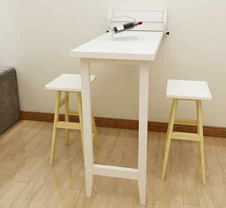 Wall-mounted Tables Dining Table & Convertible Desk
