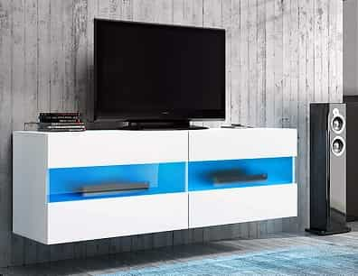 BRICO - Floating TV Cabinet Hanging TV Stand Wall Unit-min