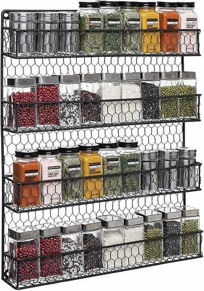 MYGIFT Country Rustic Chicken Wire Storage Organizer