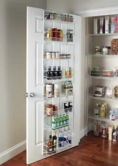 Over The Door Spice Rack