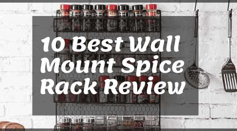 Wall Mount Spice Rack Review