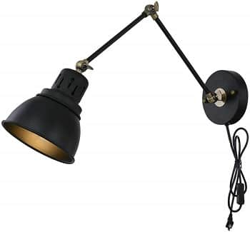 Tausende Black Wall Mounted Light Fixture