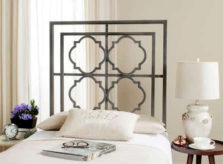 Antique Wall Mounted Iron Headboards by Safevieh