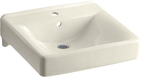 KOHLER K-2084-7 Soho Wall-Mount Bathroom Sink