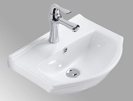 Renovator's Supply Small Wall Mount Bathroom Vessel Sink