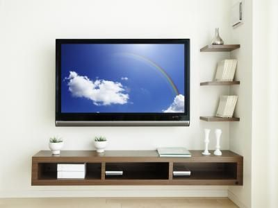Floating Wall Mount Underneath The Television